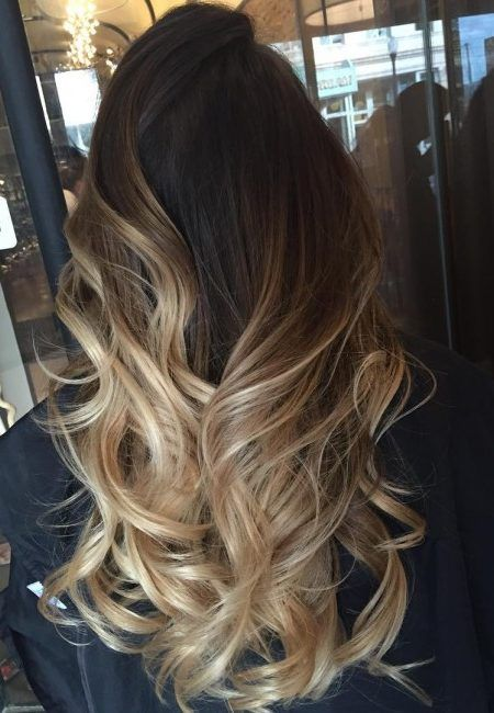 Brown Ombre Hair Ideas for 2017 – Best Hair Color Trends 2017 – Top Hair Color Ideas for You! Get #hairextension from @kinghaircom to add volume and length in minutes! Fresh your daily hair looking at www.kinghair.com