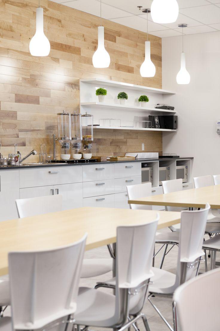 #interior design #office #cafeteria #kitchen #cuisine #wood #white #decoration  www.parka-architecture.com