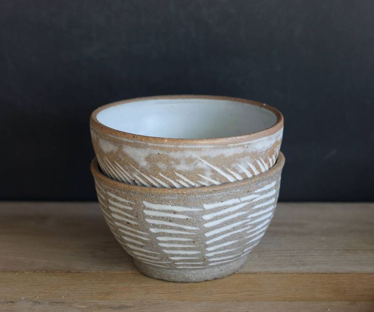 Soup Bowls Set of 2, Ceramic Soup Bowls, Pottery White Bowl, Hand made Dinnerware, Wedding Gift by ClayAndWoodStudio on Etsy https://www.etsy.com/listing/493460206/soup-bowls-set-of-2-ceramic-soup-bowls