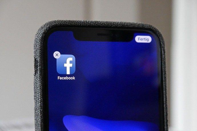 Facebook Aktivitätenprotokoll App