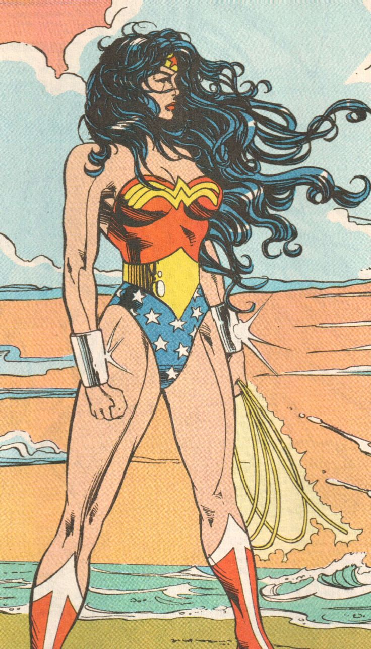 Wonder Woman: WW ® I didn't know she was so ripped!