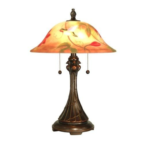 "Dale Tiffany RT60278 22.5"" Tropical Table Lamp with 2 Lights"