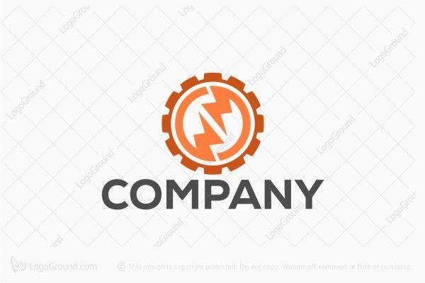 Logo for sale: Electric Engineering Logo