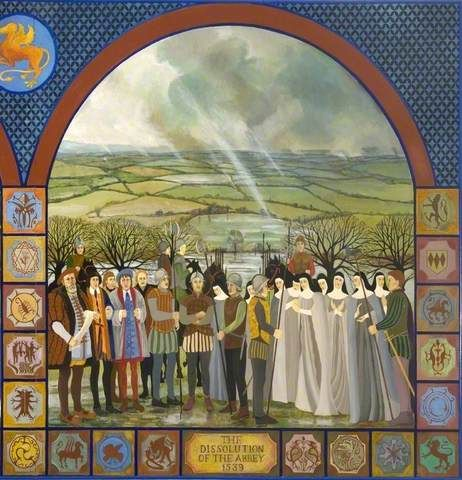 Millenium Mural Shaftesbury Guildhall