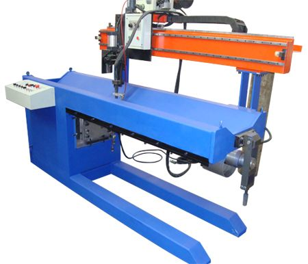 #Longitudinal #seam #welding #machine adopts the key clamp device to support uniform and stable holds and cooling effect..http://goo.gl/kVrksX