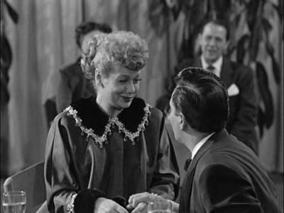 """Lucy Is Enceinte- Season 2, Episode #50 (One of my fav)  Lucy discovers that she's pregnant (or enceinte, as the censors forbid them to say """"pregnant.""""      ~  Sew Technicolor: 10 Best """"I Love Lucy"""" Episodes"""