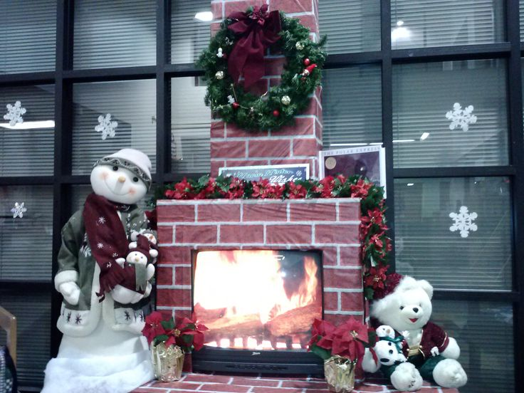 our decorations in the school library - Ayala High School, Chino Hills, CA.