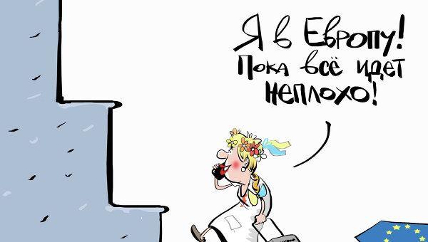 Cartoons Russia,USA, EU