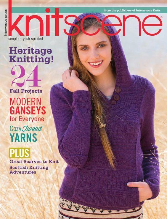 Knitscene Fall 2014 - 轻描淡写 - 轻描淡写