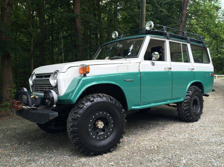 1975 Toyota Land Cruiser Custom Iron Pig Off-Road Ready