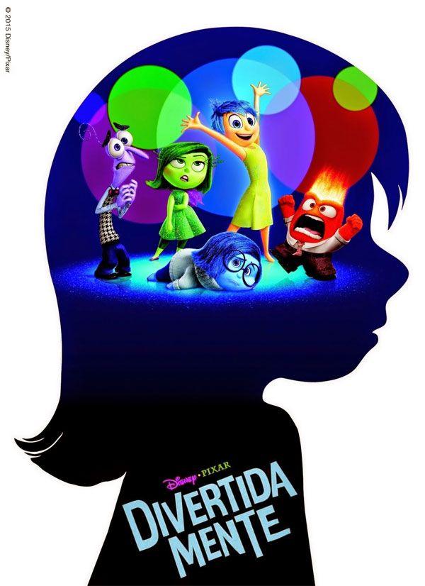 Divertida Mente  Visto em 03/12/2015.  Excelente filme, fala muito bem sobre emoções e como todas elas são necessárias para a saúde mental.