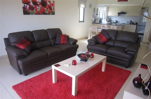 2 Bedroom Apartment in Pervolia to rent from £253 pw. With wheelchair access, balcony/terrace, air con, TV and DVD.