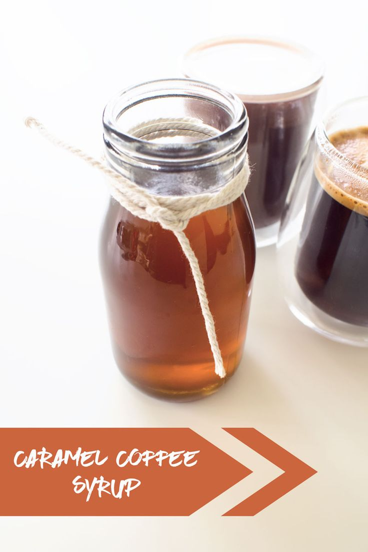 This caramel coffee syrup recipe is easy, economical and cuts out a load of chemicals - oh and of course its delicious!