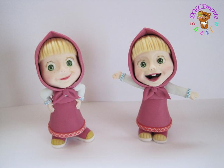 The twins Masha - Cake by Sheila Laura Gallo
