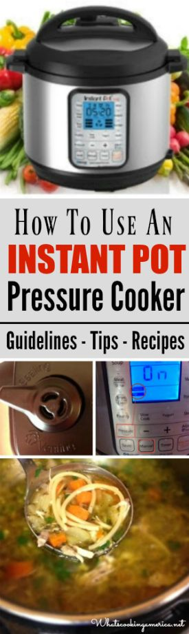Guidelines - Safety Tips - Troubleshooting - Recipes - Shop for Instant Pot   |  whatscookingamerica.net  |  #Instantpot #pressurecooker #recipe
