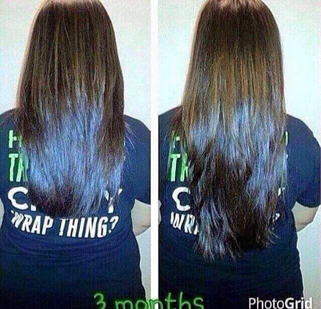 Who wants results like this!?  Let me help you grow out that long luscious hair you've been dreaming of!!
