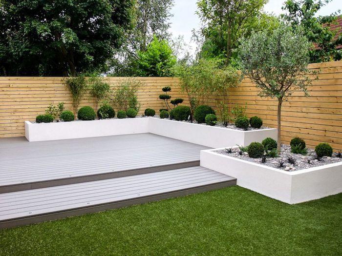 1001 Ideen Und Bilder Zum Thema Sichtschutz Selber Bauen Minimalistischer Garten Sichtschutz Garten Selber Bauen Gartengestaltung