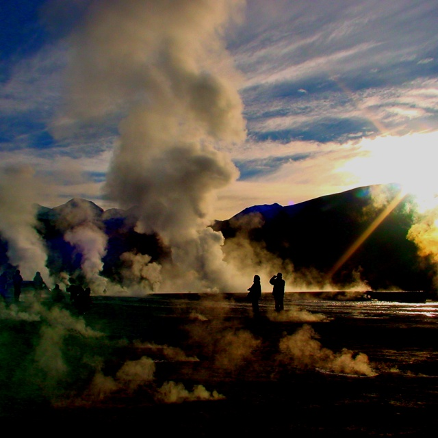Geysers del Tatio - Atacama Desert - Chile