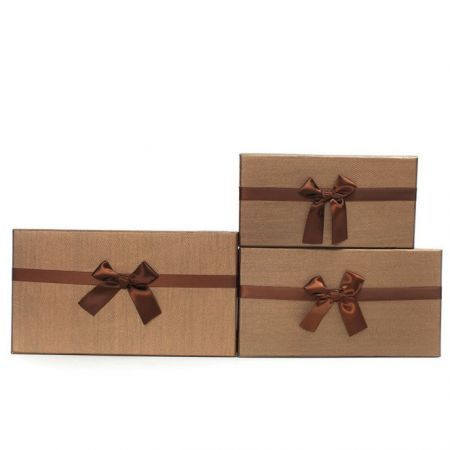 3 pcs Brown Gift Boxes Case For Wedding party Xmas birthday Present Packaging, currently AU$19.99 plus postage from crazysales.com.au #giftboxes #partysupplies