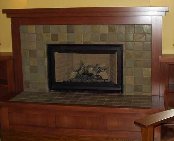 14 best images about fireplace ideas on pinterest for Craftsman gas fireplace