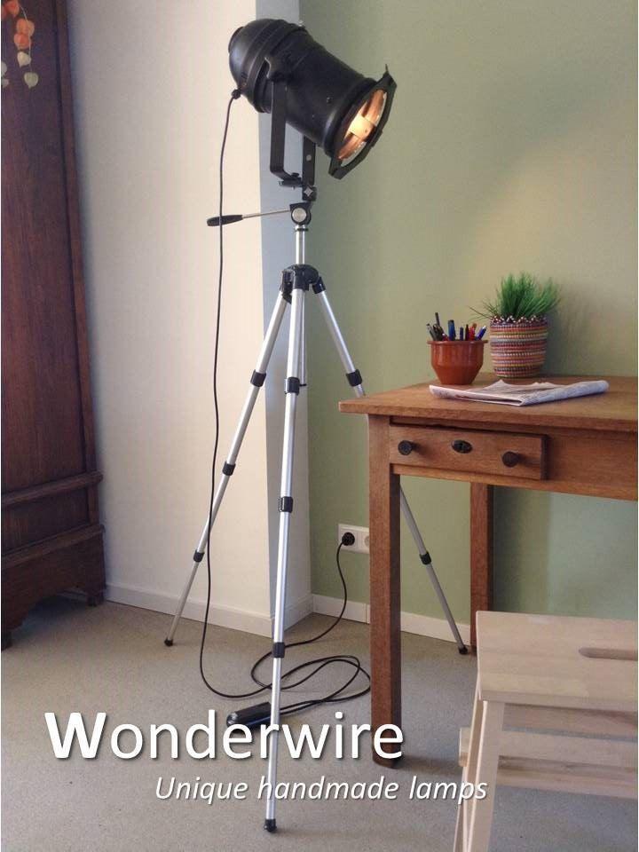 Een persoonlijke favoriet uit mijn Etsy shop https://www.etsy.com/listing/275676890/black-tripod-34cm-vintage-studio-lamp