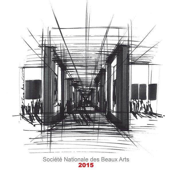 Dec 17 - 20, 2015: Participation to Le Salon des Beaux Arts, Salles du Carrousel du Louvre, ParisSalon des Beaux Arts, 2015 - Exhibition