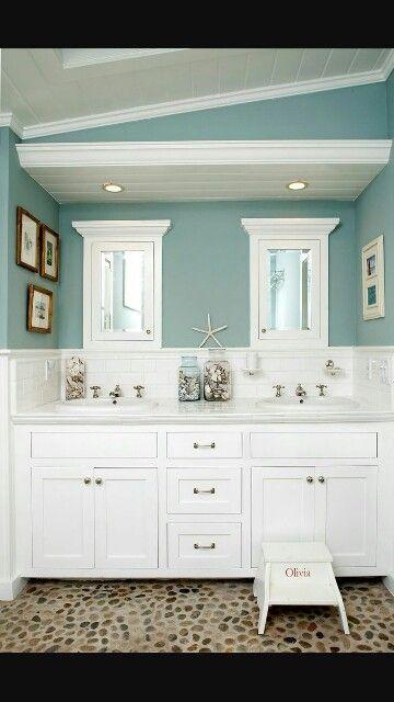 Azulejos Para Baños En Santa Fe:baño de color ideal con azulejos blancos más diseño de baño baño