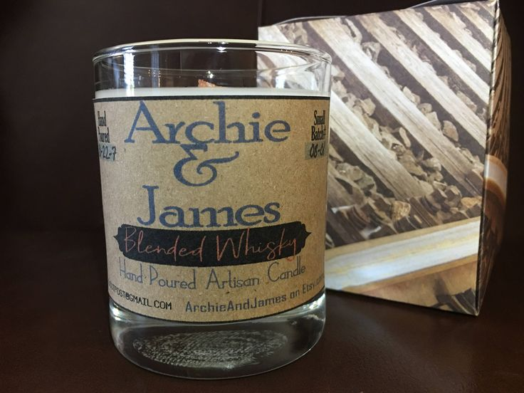 Excited to share the latest addition to my #etsy shop: Blended Whisky scented Artisan Candle http://etsy.me/2mKiY2d #housewares #whiskyscentcandle #coconutwax #archieandjames #mancavedecor #bachelorgifts #giftsformen #giftsfordad #housewarminggifts