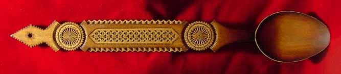 Traditional Spoon of Romania by Zina