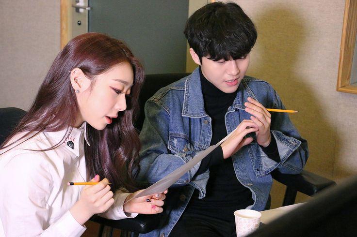 Yu YeonJeong Yu SeungWoo 'Vintage Box' collabo, ioi yeonjung, wjsn yeonjung, yu seungwoo 2016, starship collabo
