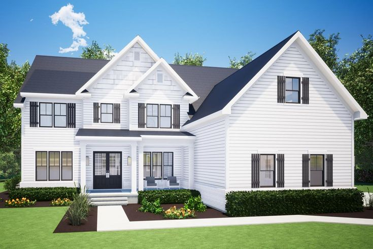 Plan 575005DAD: 5-Bed House Plan with Upstairs Loft/Media ...