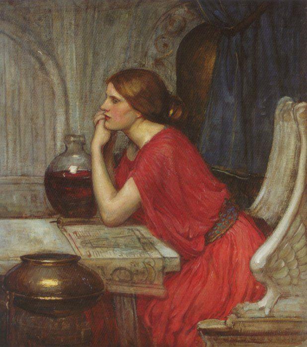 Цирцея Джон Уильям Уотерхаус / John ёё Waterhouse 1911