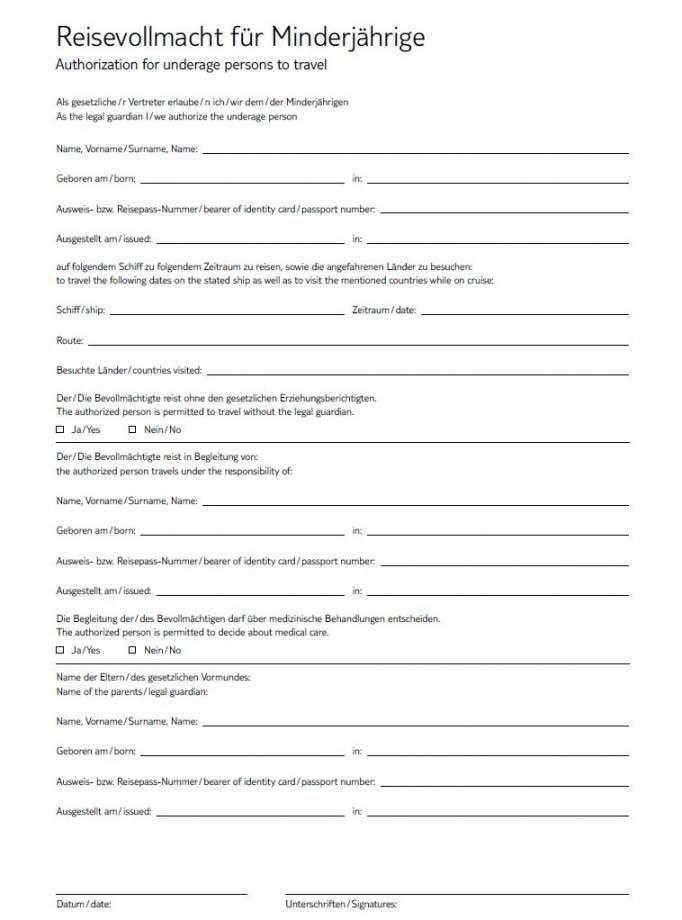 Charmantfrohlich Einverstandniserklarung Der Eltern Vorlage In 2020 Vollmacht Urlaub Mit Kindern Empfehlungsschreiben
