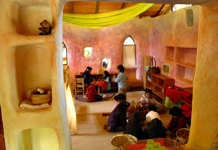 Fairy Tale Strawbale Cottage Is a Charming Waldorf Preschool in Cuernavaca, Mexico | Waldorf Today - Waldorf Employment, Teaching Jobs, Positions & Vacancies in Waldorf Schools