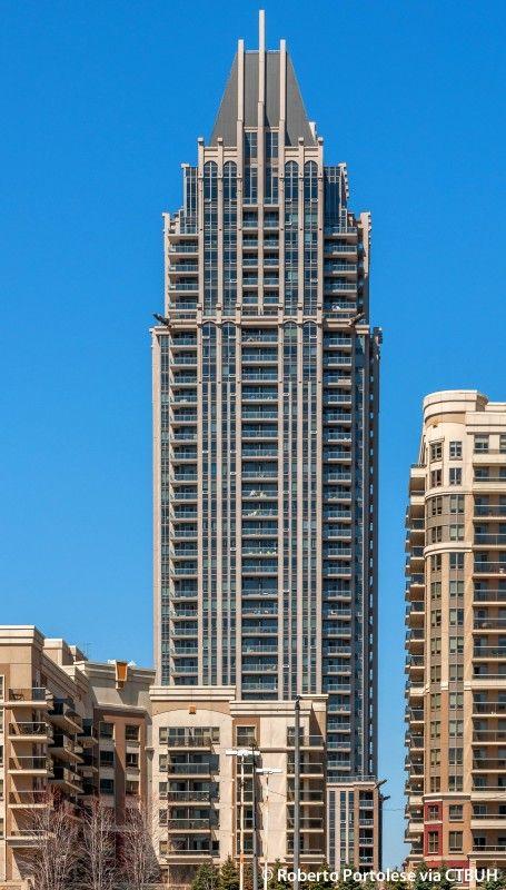 One Park Tower - The Skyscraper Center, Photo Roberto Portolese