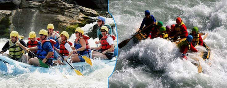 River Rafting at Second Life Resorts