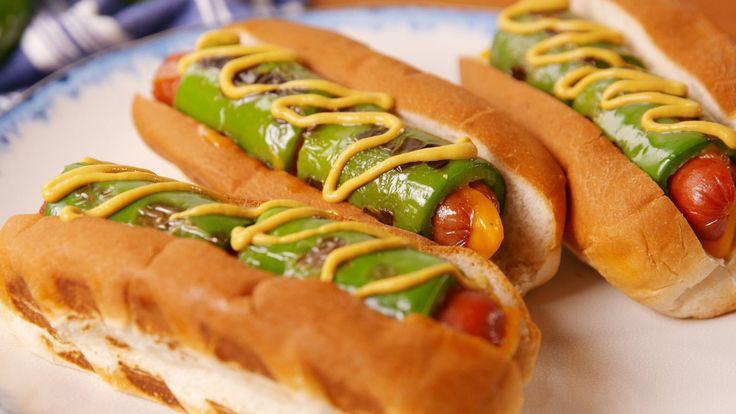 Jalapeño Popper Dogs  - Delish.com