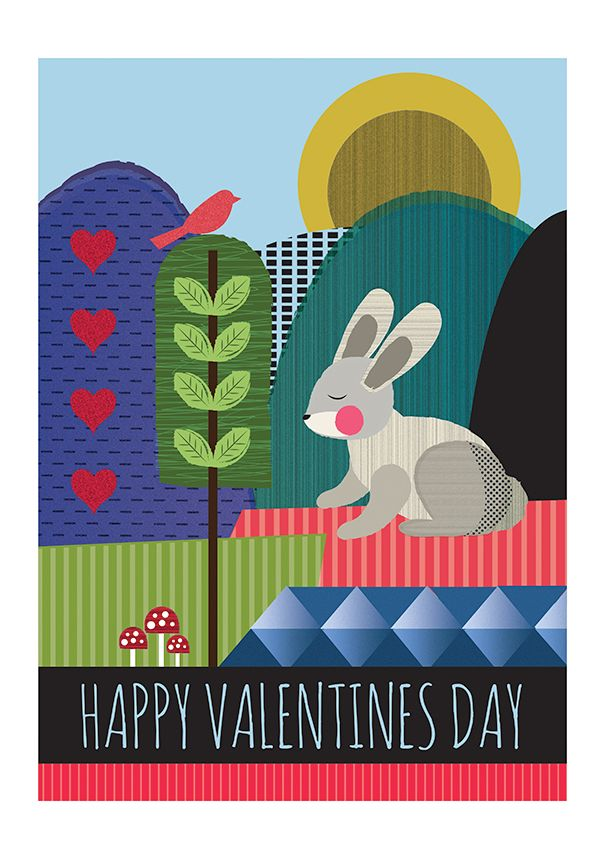 Valentines Day - Posters on Behance