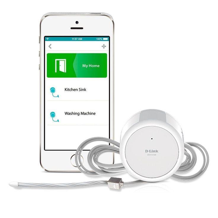 New!! D-Link DCH-S160 mydlink Home Water Sensor Wi-Fi - Water Detection EU PLUG #DLink