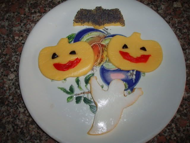 Tartine di polenta TM5 per Halloween - food4geek
