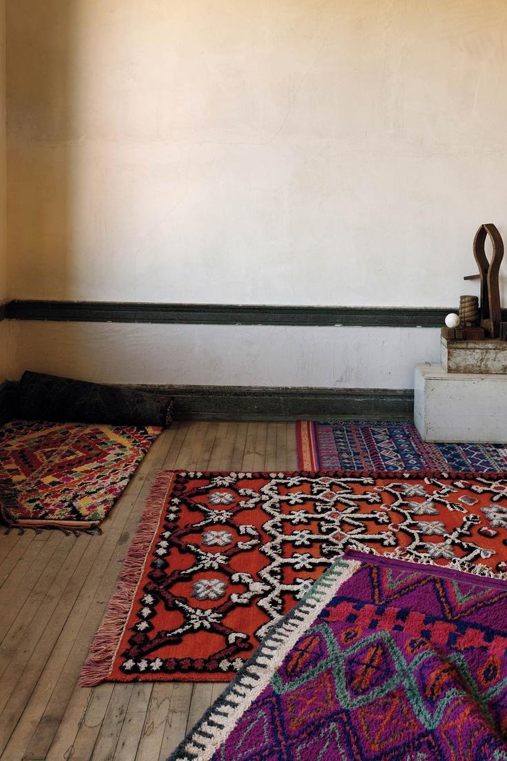 rugsDecor, Anthropology Rugs, Prayer Rugs, Ethnic Carpets, Interiors Design, House, Boho, Rugs Layered, Cool Stuff