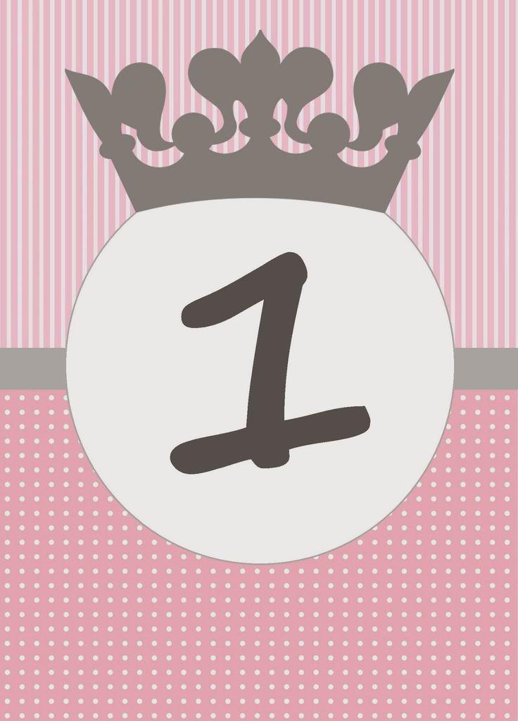 BulutsMom: Prenses Temalı Doğum Günü Banner Harfleri