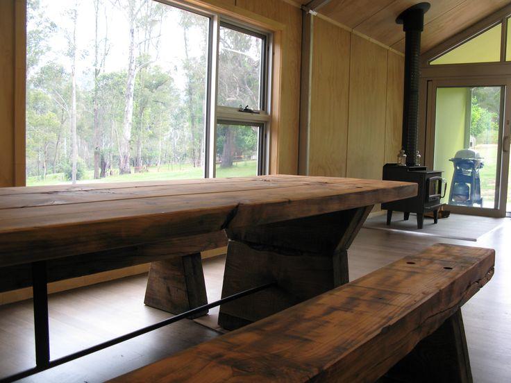 de atelier cedar table