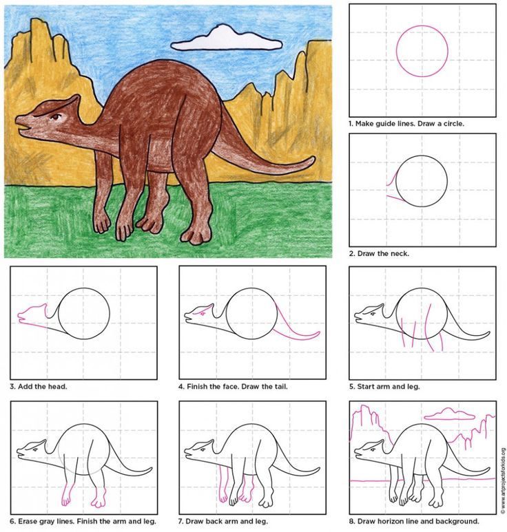 step by step dragon drawing instructions
