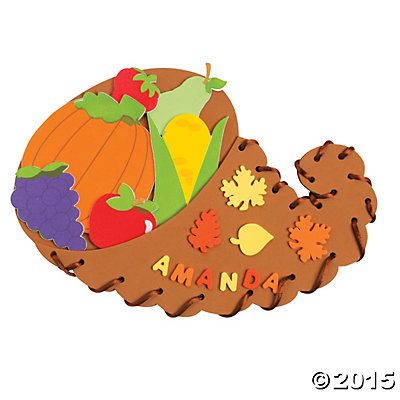 Lacing Cornucopia Craft Kit