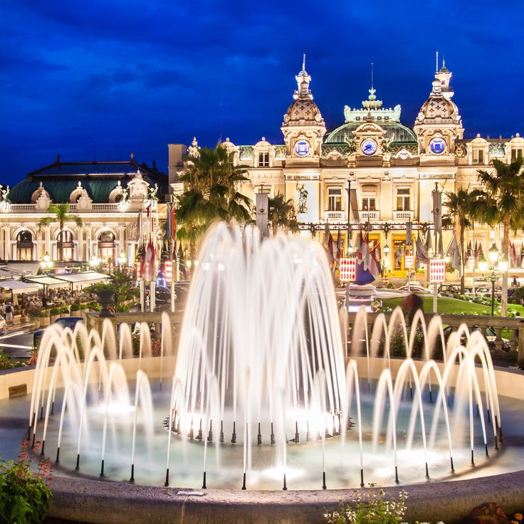 Famous Monte Carlo Casino | Monaco - Didn't gamble, but I had to go and see the inside. More beautiful than I imagined. Note, there's a fee to get in.                                                                                                                                                                                 More