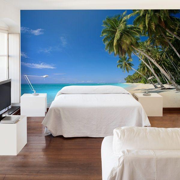 Fotomurales playas decora tus paredes con esta - Murales fotograficos pared ...