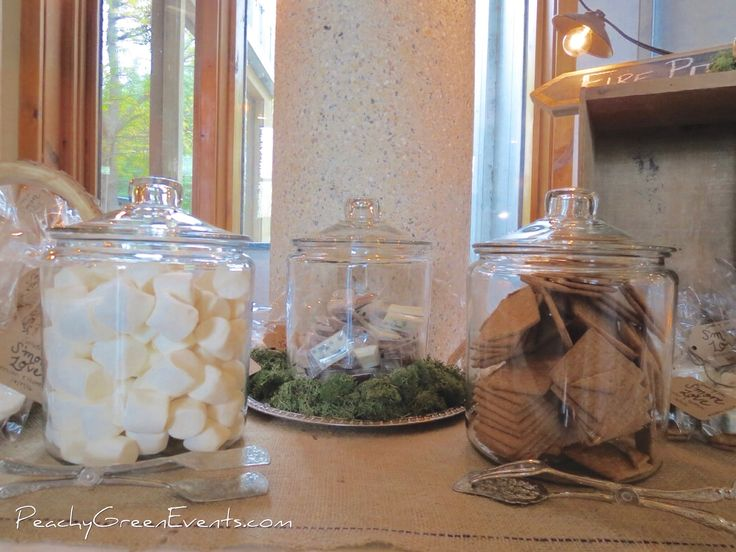 Fall Wedding S'more Bar at Fort Whyte Alive