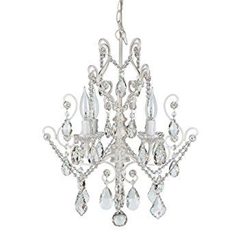Authentic Crystal Swag Chandelier Lighting with 4 Lights