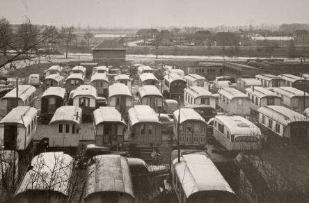 Woonwagen kamp - trailers